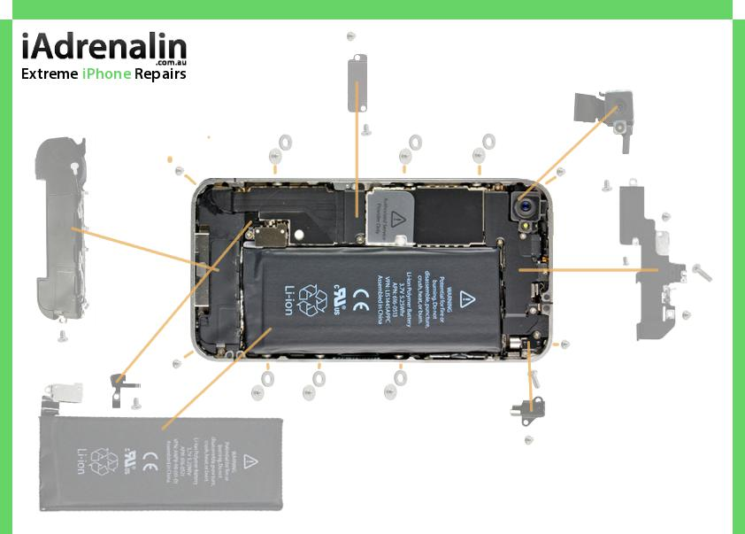 iphone 4 screw chart iadrenalin rh iadrenalin com au iphone 4 internal screws diagram iPhone 4S Screw Layout Sheet